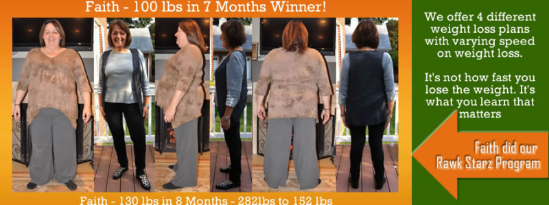 Faith Fast Weight Loss Before and Afters