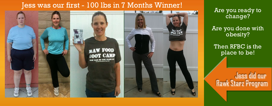 Raw Food Weight Loss Jess Fast Before And Afters