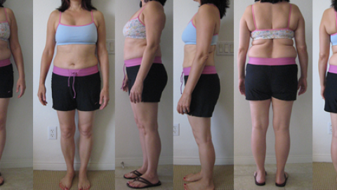 Brenda's 25 lbs Gone Before and Afters