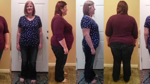 Haley Hits 110 lbs Gone!
