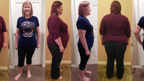 Haley Hits 120 lbs Gone in 9 Months