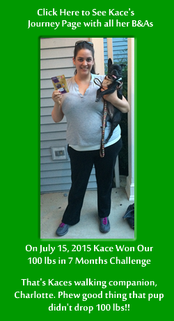 Kace's Quick Weight Loss with a Raw Food Diet