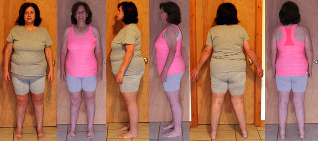 Cathy's 50 lbs Gone in 4 Months Before and Afters