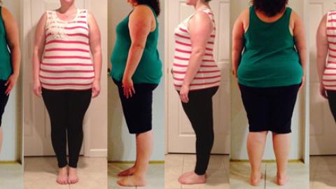 Healthy Mom wins 50 lbs in 12 Week Challenge & Earns 75 lbs Gone Chip?