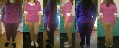 Menza's 100 lbs Gone and Goal Before and Afters