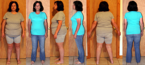 Cathy's 60 lbs Gone in 6 Months with a Raw Food Diet