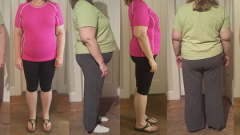 Elain hits 60 lbs gone in a little over 5 Months