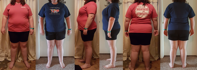 Karnet hits 25 lbs Gone her First Month