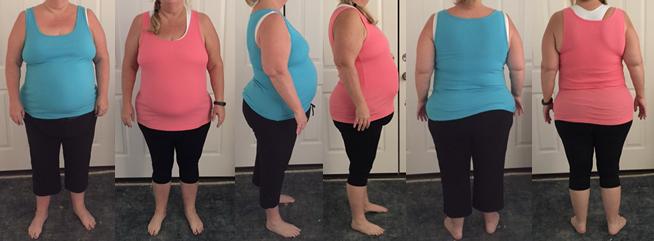 Ondine Hits 25 lbs gone in 6 Weeks!