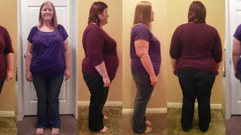 Haley Hit 80 lbs Gone with a Raw Food Diet