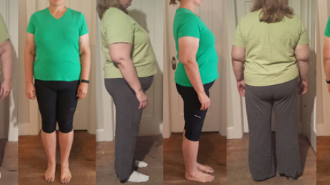 Elain hits 70 lbs Gone in 7 Months 3 Weeks with a Raw Food Diet