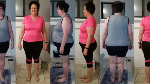 A2TheSwart Hits 60 lbs Gone with a Raw Food Diet