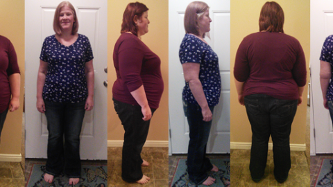 Haley Hits 110 lbs Gone!
