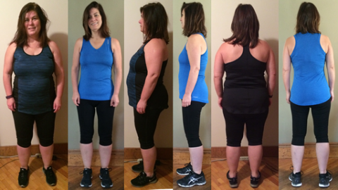 Goalie's 70 lbs Gone in 5 Months B&As