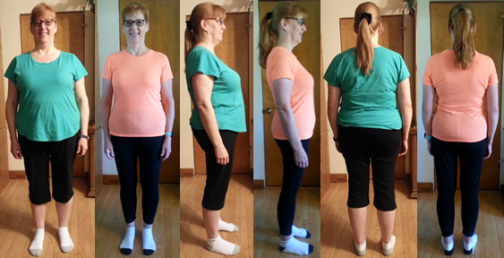 Mona's 50 lbs Gone in 3.5 Months!