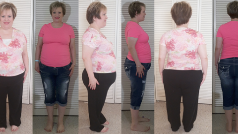 TinaBee Hits 50 lbs Gone!