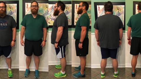 Seth Hits 60 lbs Gone in 7 Weeks!