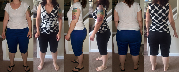 Heather's 20 lbs Gone Before and Afters