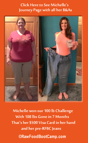 michele's obesity before and afters