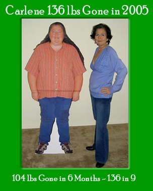 Carlenes Perfect Diet for the Obese Before and Afters