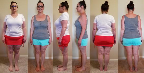 Rachel Wins 50 lb Challenge