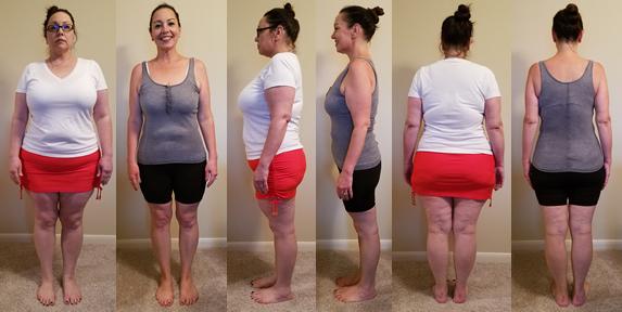 Rachel's 70 lbs Gone in 4.25 Months B&As