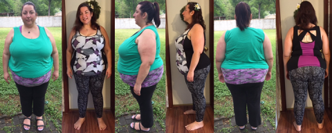 Merci Hits 90 lbs Gone in 8 Months
