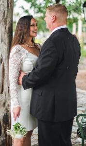 Rachel Raw Food Weight Loss wedding photos
