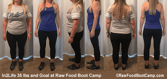 In2Life's fast healthy weight loss with a raw food diet plan