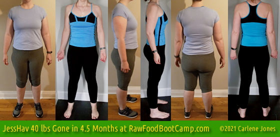 JessHav 40 Fast Weight Loss with Raw Food Diet